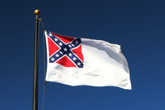 The Confederate flag - symbol of Southern heritage and culture - flies in our front yard every day of the year. This is the 2nd National - affectionately known as The Stainless Banner.