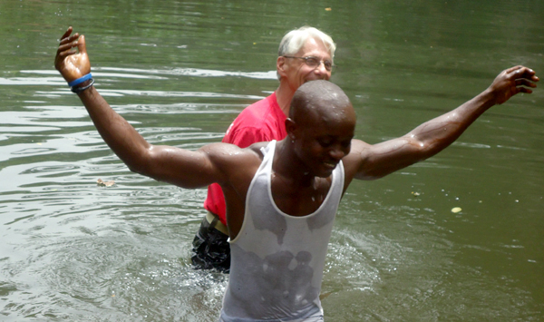 The joy of knowing what the baptism of a believer really means